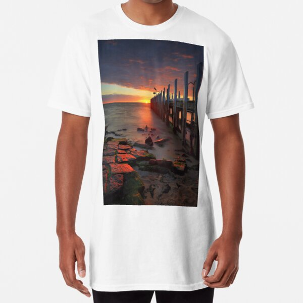 Safety Beach Jetty Long T-Shirt