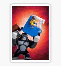 Lego Gorilla Grodd - Custom Artwork & Photography Sticker