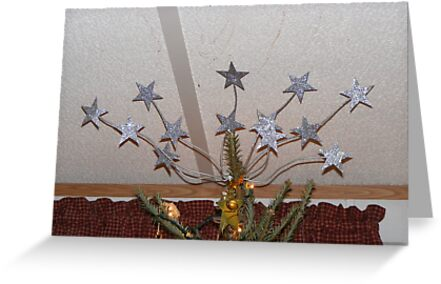 TREE TOPPER - WHY SETTLE FOR JUST ONE STAR!! by Cathy Cale