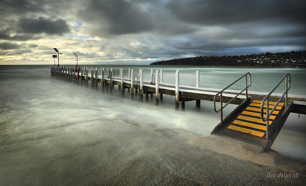 Safety Beach Jetty by Jim Worrall