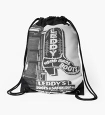 Fortworth: Stock Yards Leddy Boots Drawstring Bag