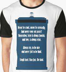 Twelve's Last Words Graphic T-Shirt