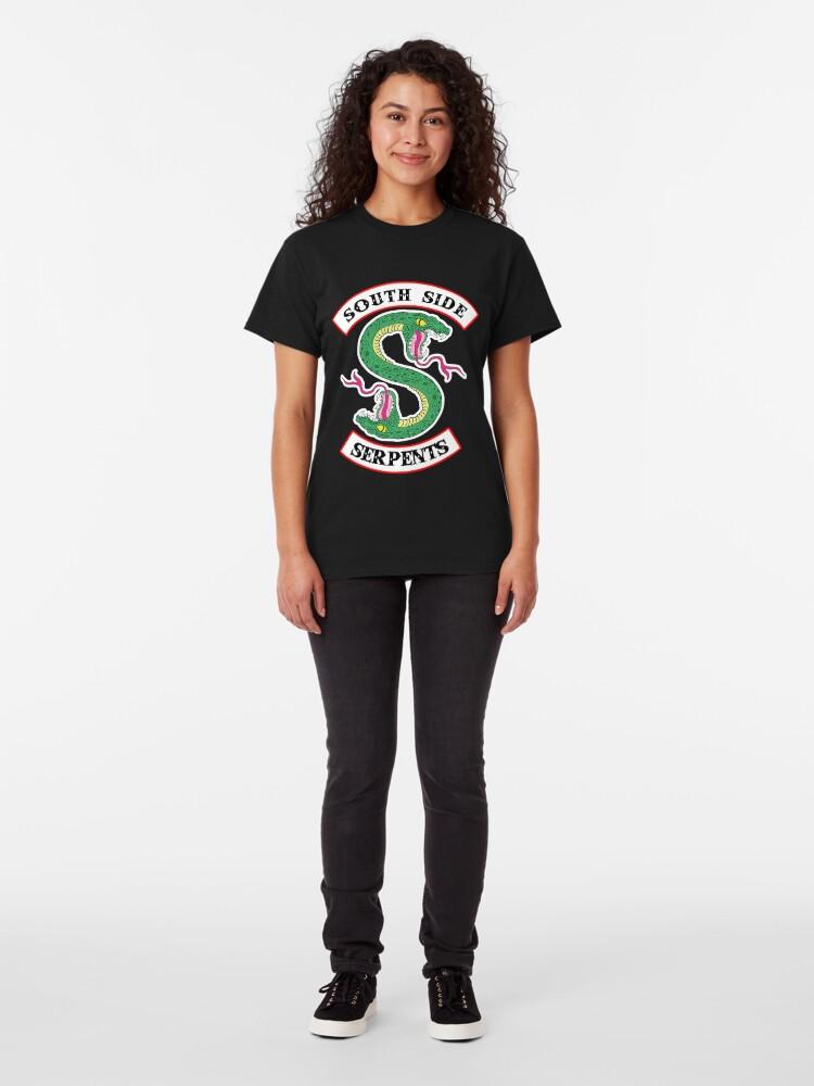 Alternative Ansicht von Southside Schlangen Classic T-Shirt