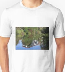 Fisherman On The Riverbank Unisex T-Shirt