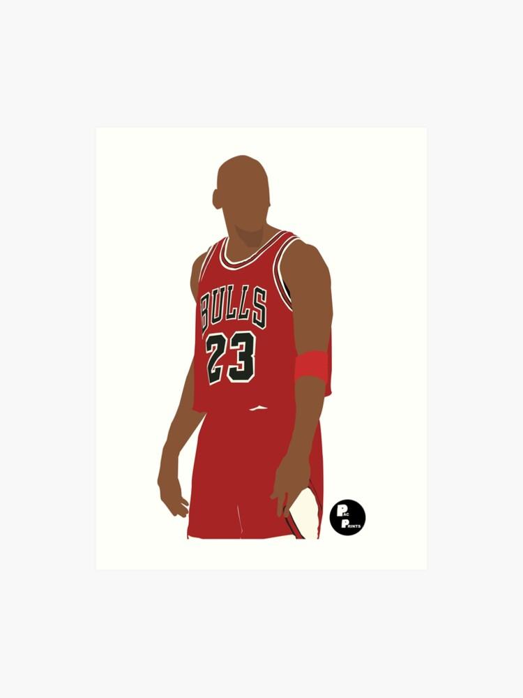 best service 7e16c 28f36 Michael Jordan Minimalist Art (Phone case, t-shirt, stickers and more) |  Art Print