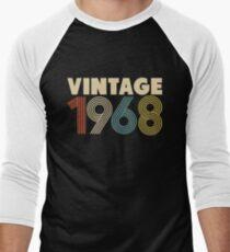 Vintage 1968 Men's Baseball ¾ T-Shirt