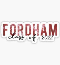Fordham 2022 Sticker