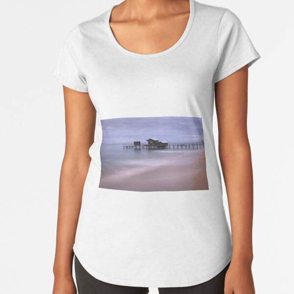 Shelley Beach - Portsea Premium Scoop T-Shirt