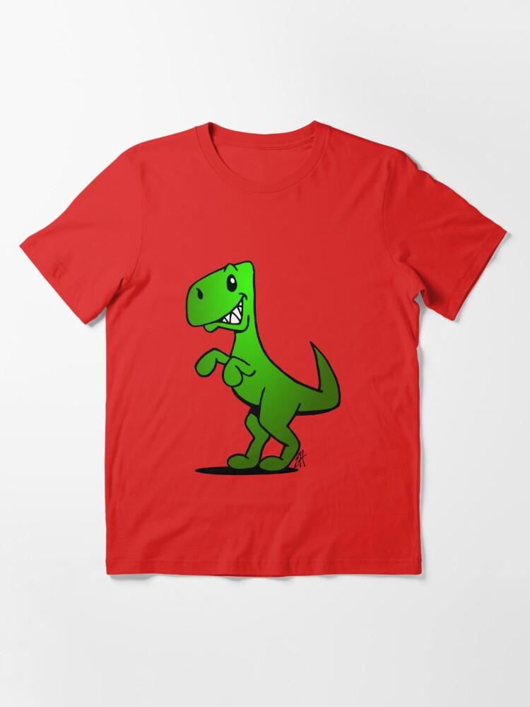 Alternate view of T-Rex - Dinosaur Essential T-Shirt