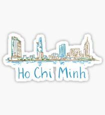 Pegatina Panorama de la ciudad de Ho Chi Minh