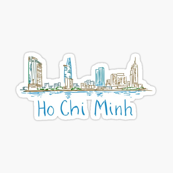 Ho Chi Minh City Panorama Sticker