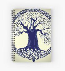 Arbol De La Vida Dibujo Cuadernos De Espiral Redbubble