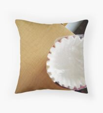Another Coffee Filter  Throw Pillow