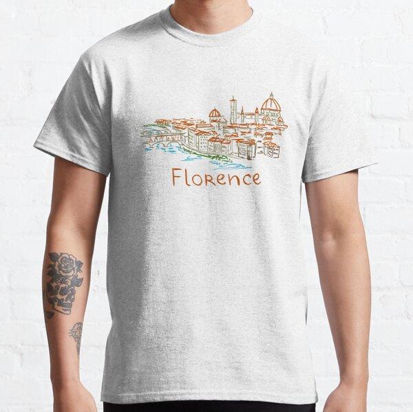 Florence Firenze Panorama Classic T-Shirt