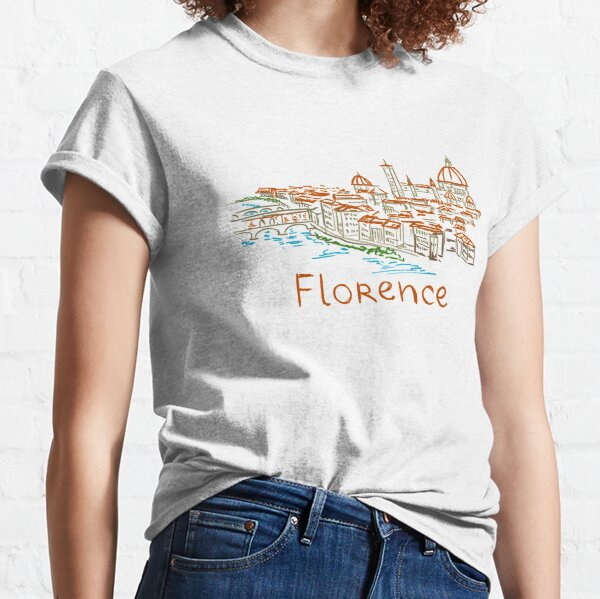 Florence Firenze Panorama Classic T-Shirt