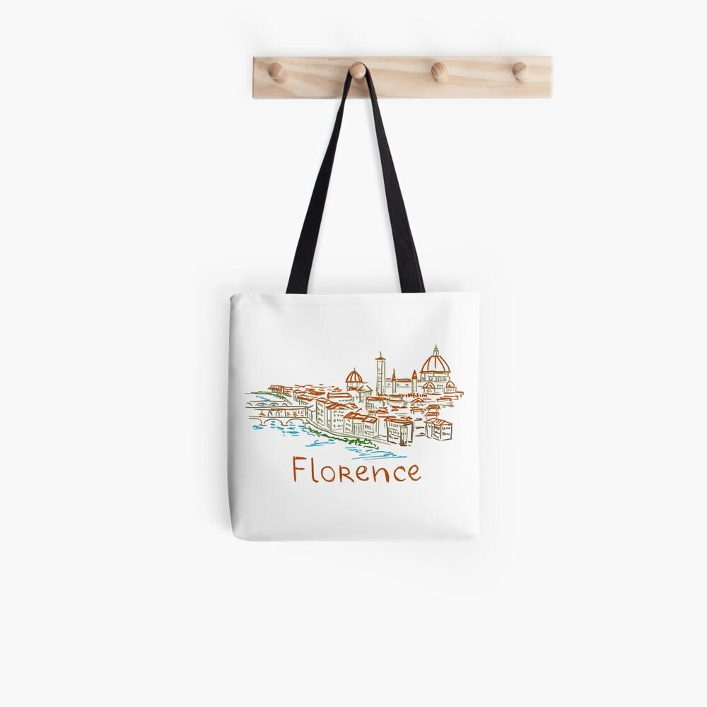 Florenz Firenze Panorama Tote Bag