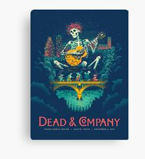 Greteful Dead Frank Erwin Center Austin Texas Canvas Print