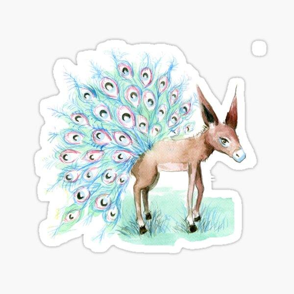 Donkpea Sticker