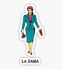 La Dama Sticker