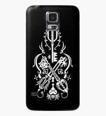 Kingdom Hearts - Schwarz Hülle & Klebefolie für Samsung Galaxy
