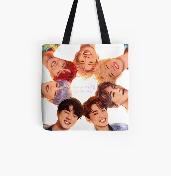 OT7 Love Yourself   Love Myself All Over Print Tote Bag