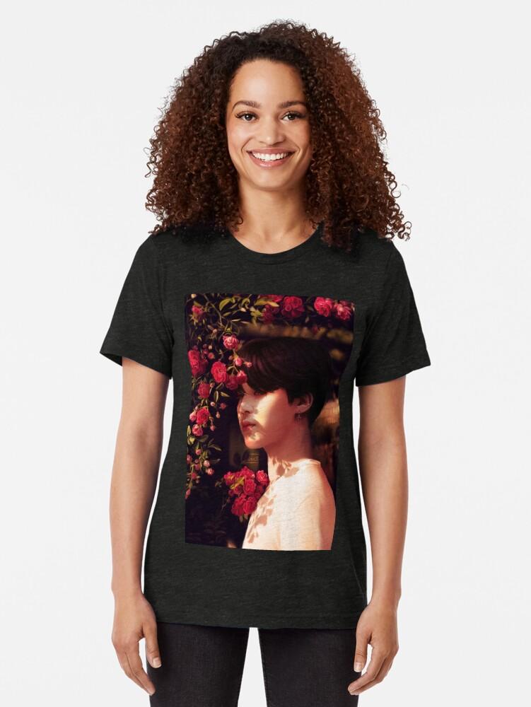 """Alternative Ansicht von """"Als du mich angerufen hast, bin ich deine Blume geworden."""" Vintage T-Shirt"""