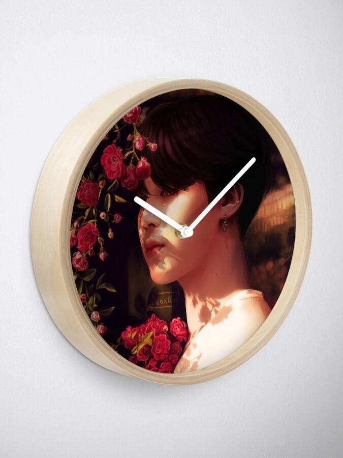 """Alternative Ansicht von """"Als du mich angerufen hast, bin ich deine Blume geworden."""" Uhr"""