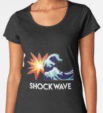 SHOCKWAVE par Skyzs Women's Premium T-Shirt