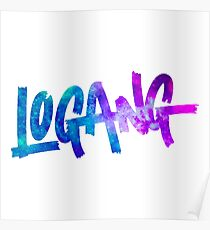 Logan Paul Design Illustration Posters