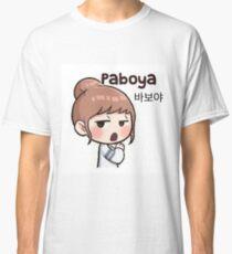 Cute korean girl - Silly sign Classic T-Shirt