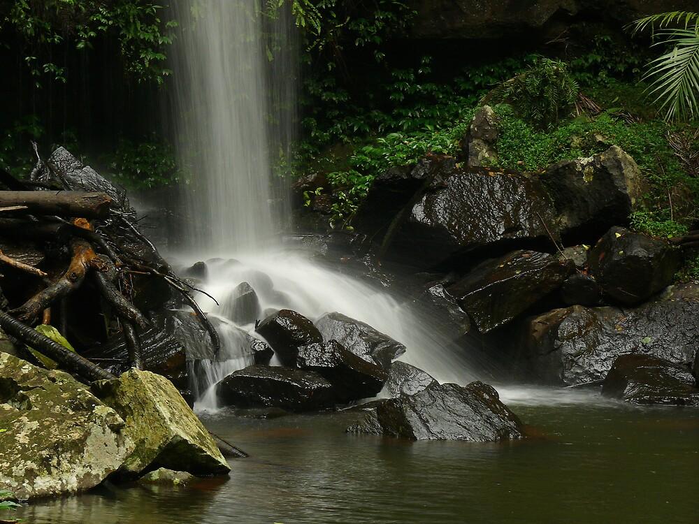 Curtis Falls Rocks by Keith G. Hawley