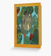 Trees - The Qalam Series Greeting Card