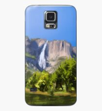 Landscape Digital Brush Painting Case/Skin for Samsung Galaxy