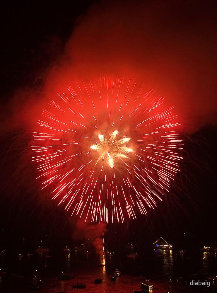 Fireworks by diabaig