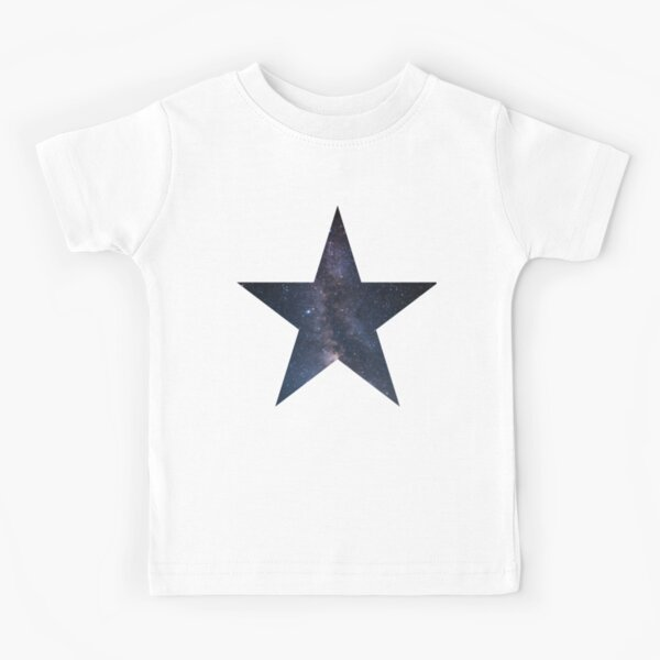 Star Explosion Art Space Child Short Sleeve Fashion T-Shirt of Boys and Girls