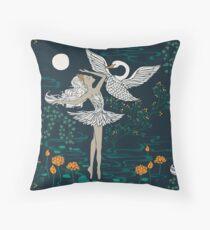 Swan Lake - Odette Throw Pillow