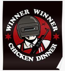 Winner Winner Chicken Dinner Poster