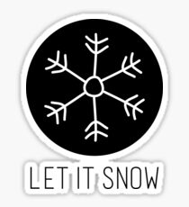 Winter Let it Snow Sticker