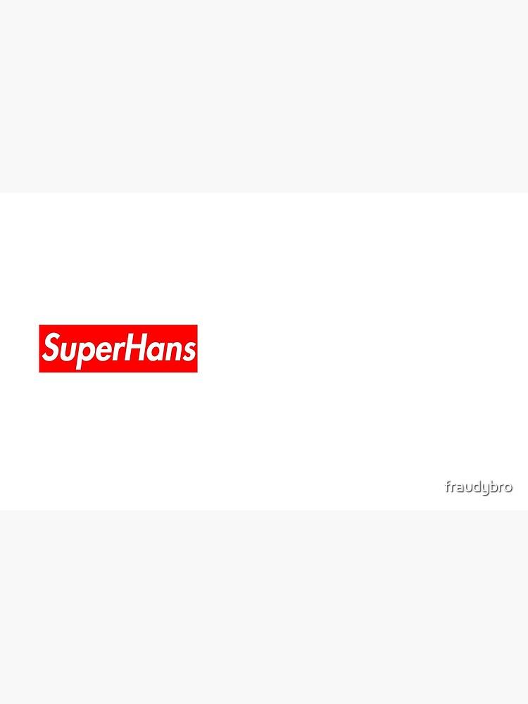 SuperHans - Peep Show x Supreme Parodie von fraudybro