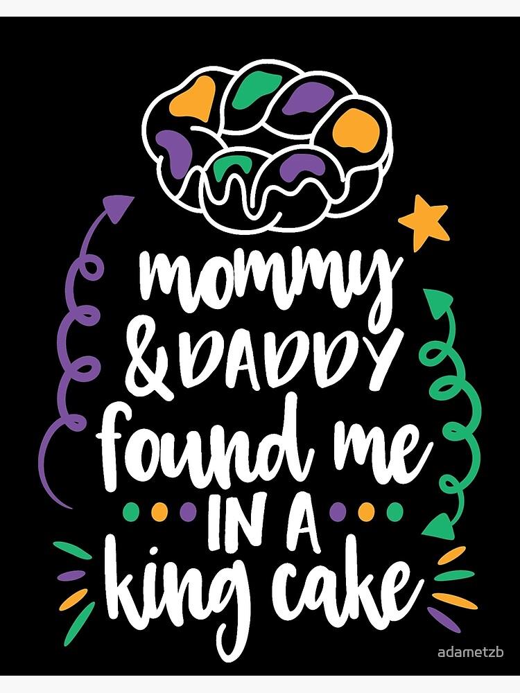 Mardi Gras Romper Mommy /& Daddy Found Me Under A King Cake Onesie\u00ae Baby Gift Baby Shower Gift Fat Tuesday Onesie King Cake Onesie