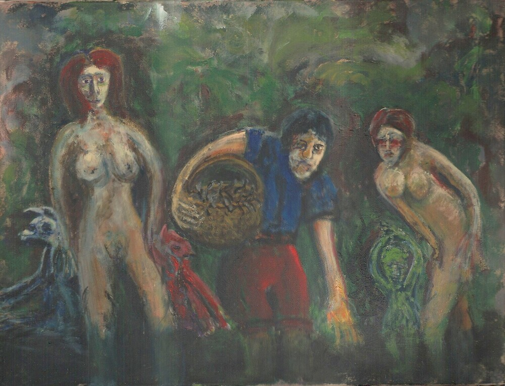 The Leech Gatherers by Peter Searle ( the Elder )