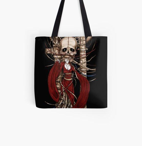 Cyber Gheisha All Over Print Tote Bag