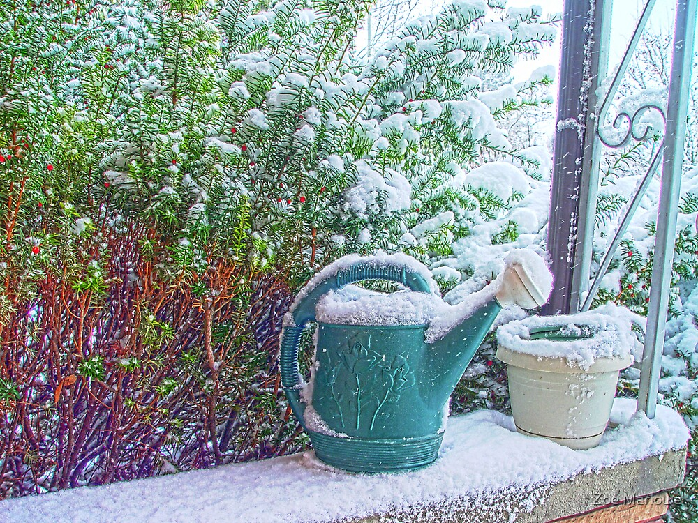 Snow On The Porch by Zoe Marlowe