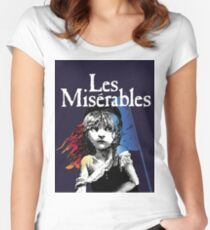 Les Miserables! Women's Fitted Scoop T-Shirt