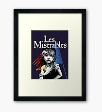 Les Miserables! Framed Print