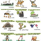 12 Green Resolution Suggestions from Wild Animals by rohanchak