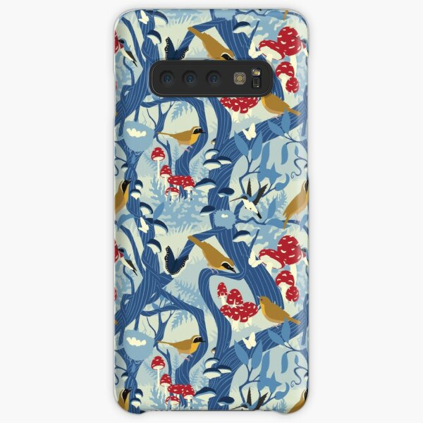 North American Forest Pattern (Blues) Samsung Galaxy Snap Case