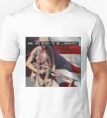 Prepare For Liberty - Vaporwave Unisex T-Shirt