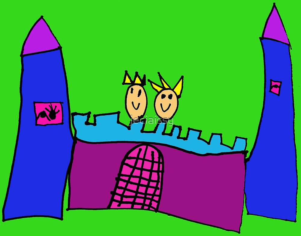 Castle - King & Queen (Issy age 5) by jeciaissy