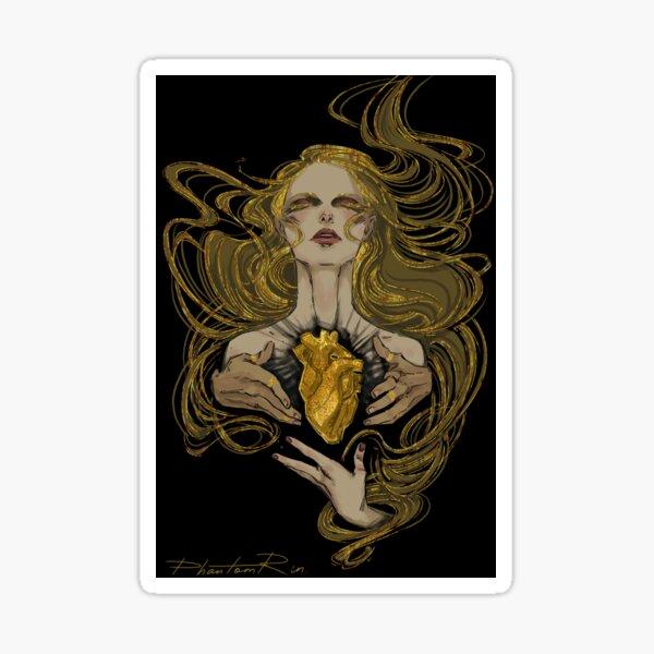 heart of gold Sticker